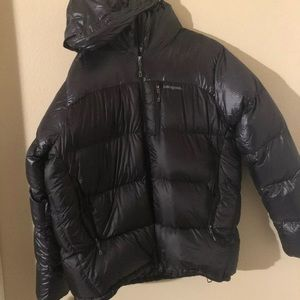 Patagonia fitz Roy jacket black parka 2014 xl